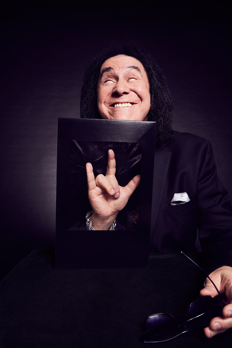 Gene Simmons portrait by Adam Christopher Torgerson
