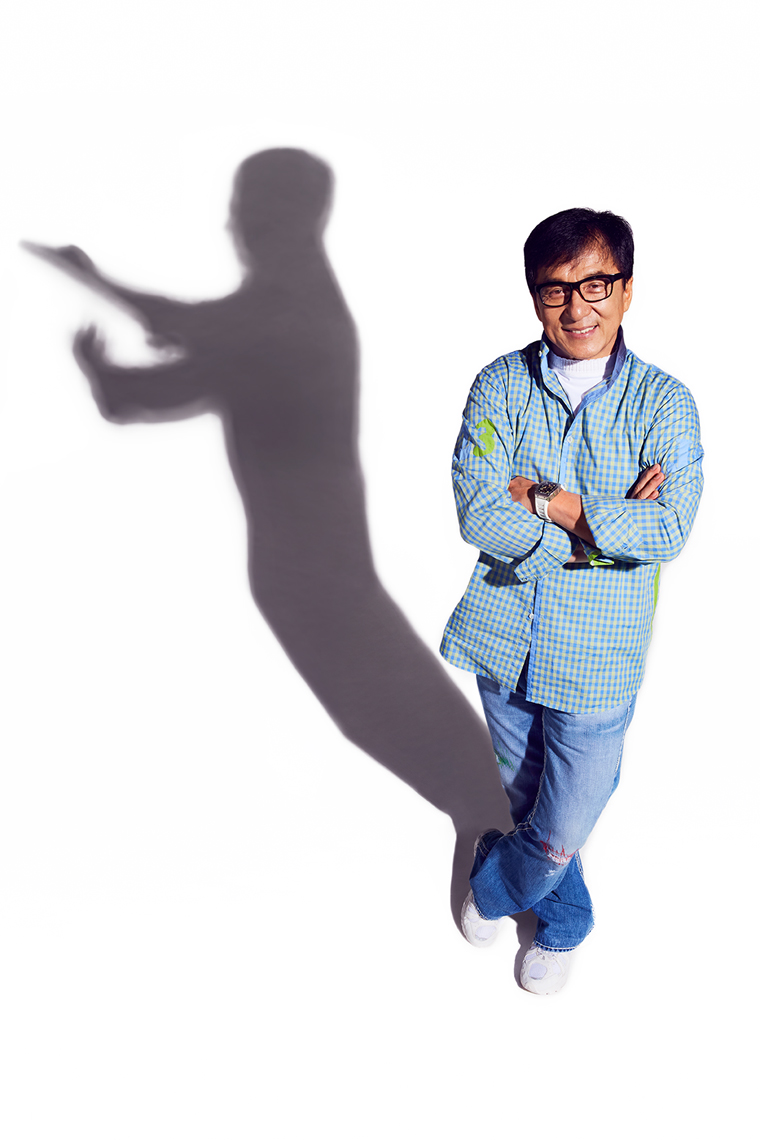 Jackie Chan portrait by Adam Christopher Torgerson