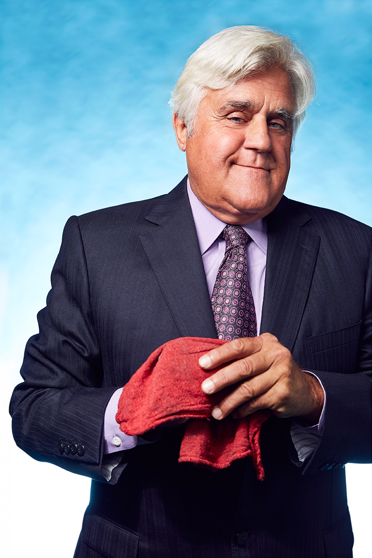 Jay Leno portrait by Adam Christopher Torgerson