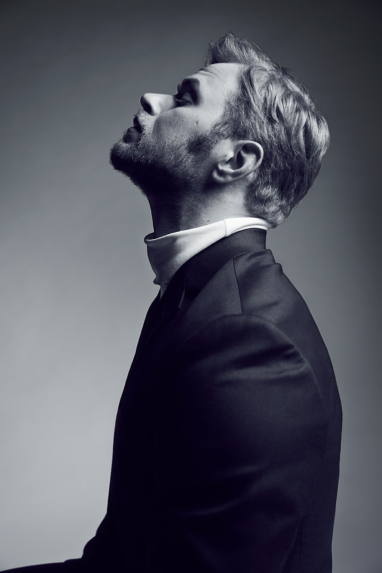 Kellan Lutz portrait by Adam Christopher Torgerson